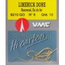 Haczyki VMC Limerick długi nr6 9210 GO